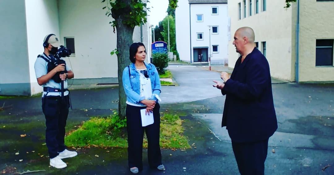 """Spaziergang mit Dr. Richard Ralfs zum Thema Digitalisierung und Bildung"""""""